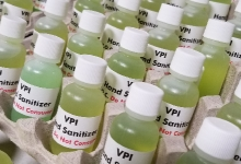 VPI Shifts Manufacturing from Turntables to Hand Sanitiser