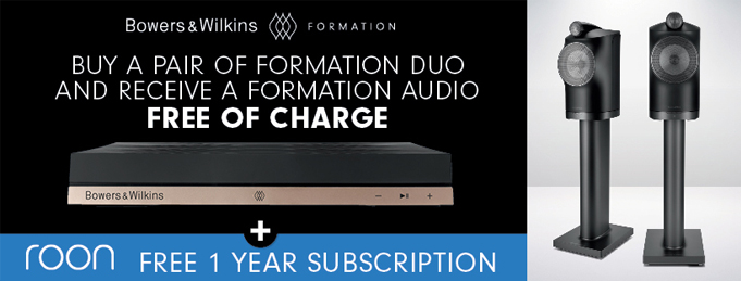 Bowers & Wilkins' Formation Duo Special Offer