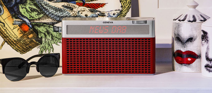 GENEVA INTRODUCES STYLISH TOURING S+ PORTABLE RADIO