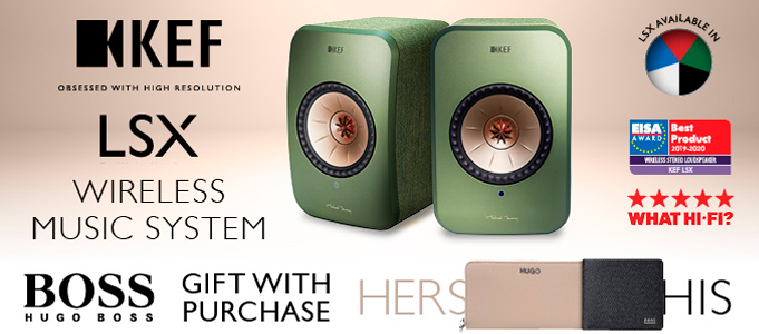 BE A BOSS WITH KEF'S LSX SPEAKERS PROMOTION