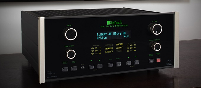 MCINTOSH ANNOUNCES HOST OF NEW AV PROCESSORS AND MULTI-CHANNEL AMPLIFIER