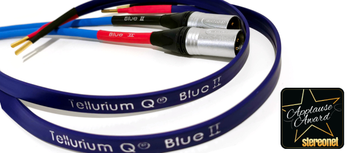 Tellurium Q Blue II Interconnect and Loudspeaker Cable Review