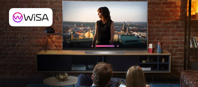 WISA-COMPATIBLE TVS REMOVE THE NEED FOR WIRES OR AN AV RECEIVER