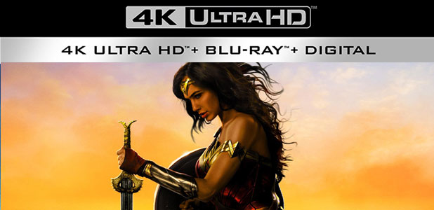 BLU-RAY REVIEW: WONDER WOMAN 4K ULTRA HD
