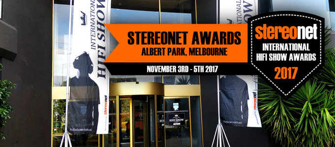 STEREONET AWARDS: 2017 INTERNATIONAL HIFI SHOW