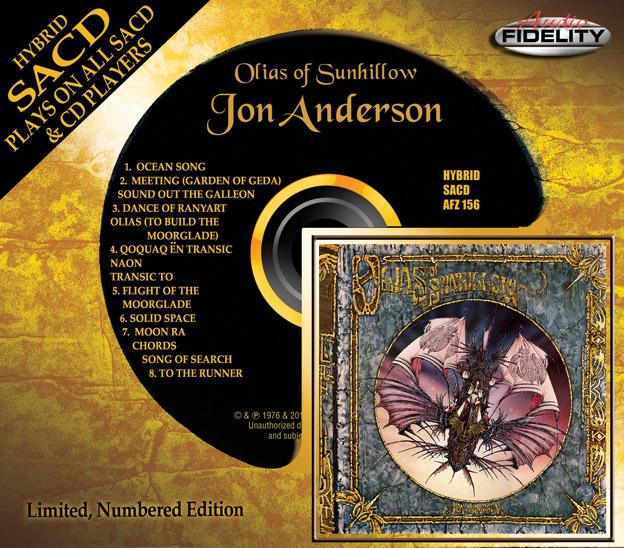 Jon Anderson - Olias - Audio Fidelity Hybrid SACD