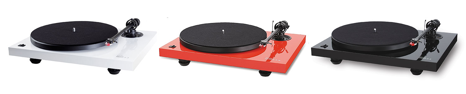 Music Hall Turntable Colors