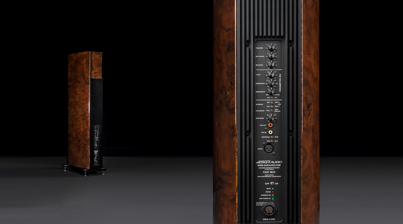 SGR Audio CX4F Mk2 with Current-Drive amplifiers