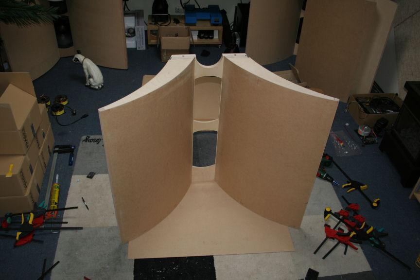 Altec 'Open Baffle' wave guide mid bass horn - DIY Audio Projects