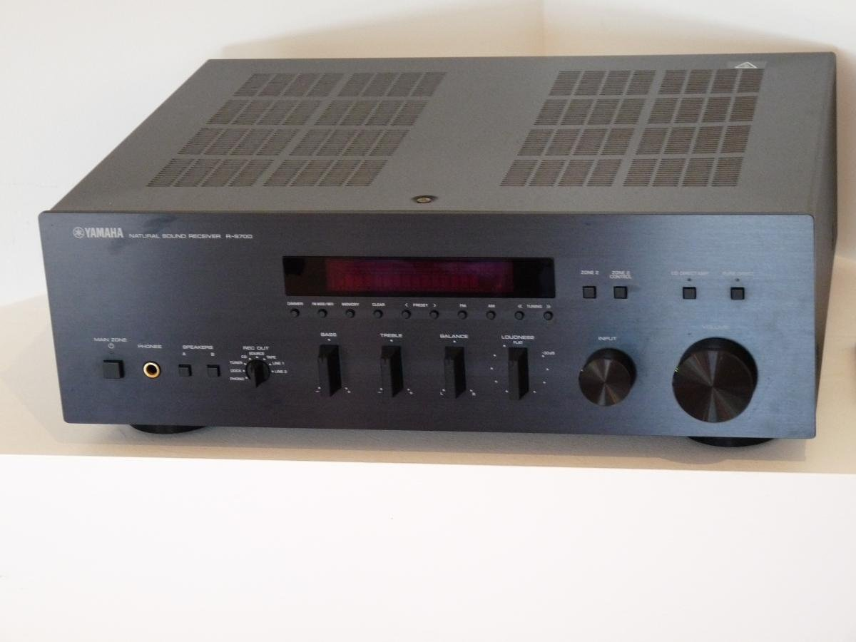 Fs yamaha r s700 2 channel receiver yds 12 ipod dock for Yamaha r s700 receiver