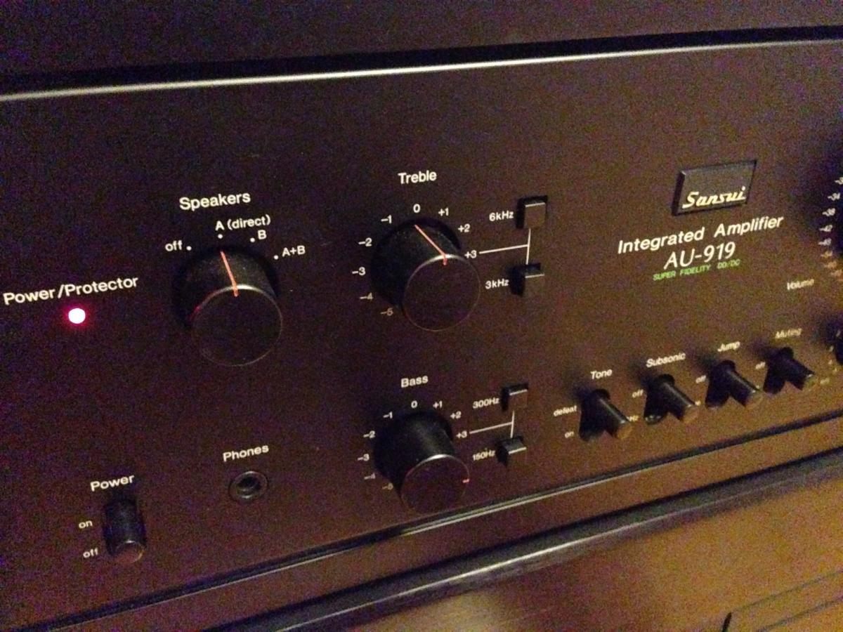 Sansui AU-919 - Wow... just wow! - Stereo Amplifiers & Pre ... on