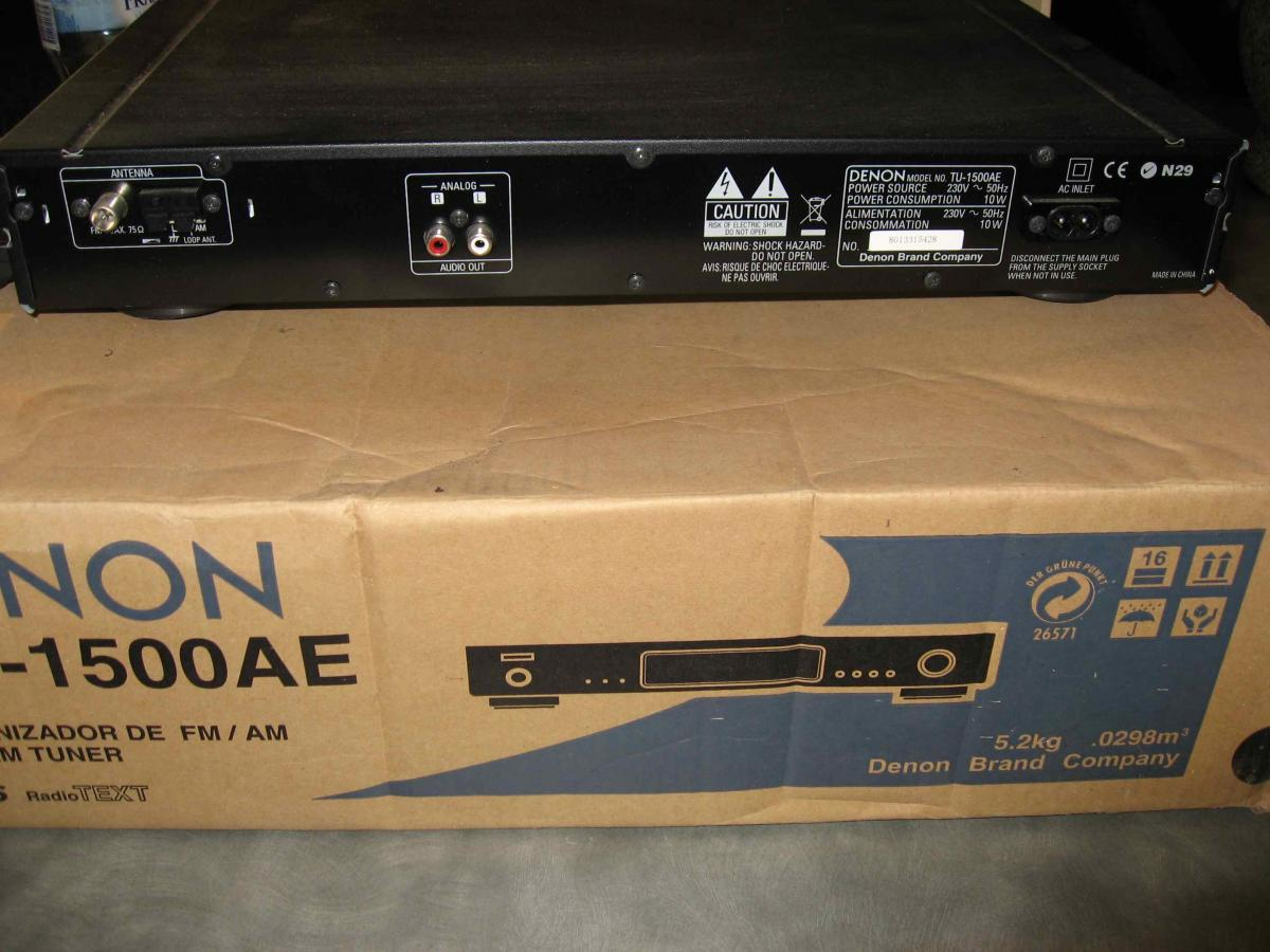 SOLD: NOW SOLD – DENON TU-1500AE AM/FM Tuner - Classifieds - Audio