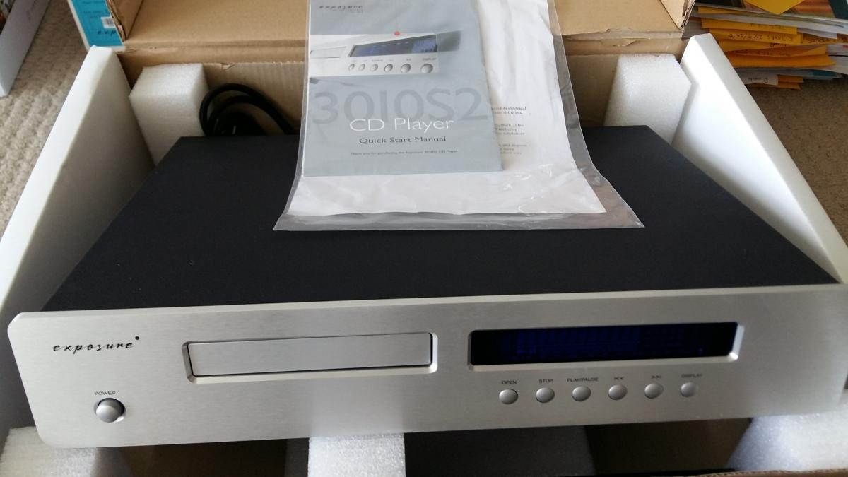 FS: Exposure 3010 Integrated amplifier AND CD player