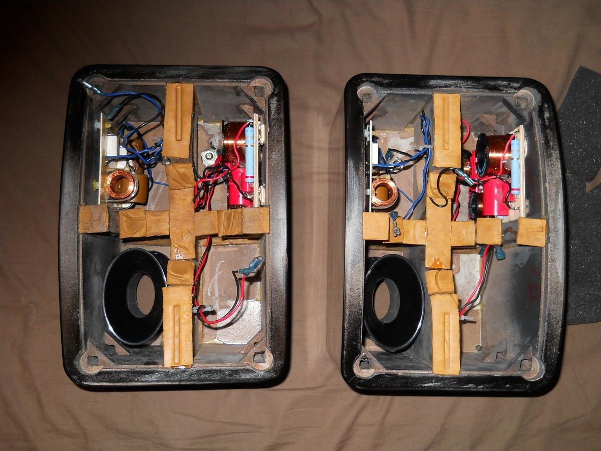 Kef Ls50 Crossover Upgrade Diy Audio Projects Stereonet