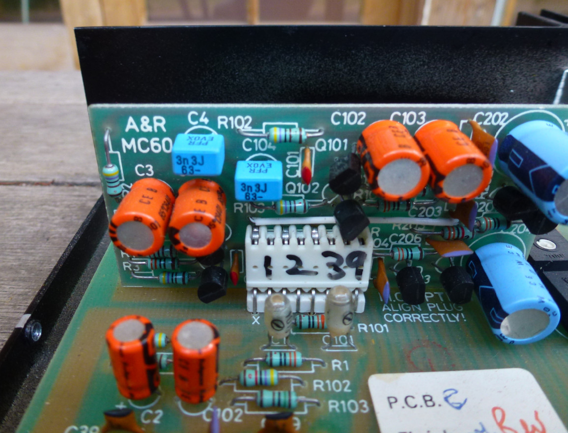 SOLD: A&R Cambridge A60 Integrated Amplifier- SOLD