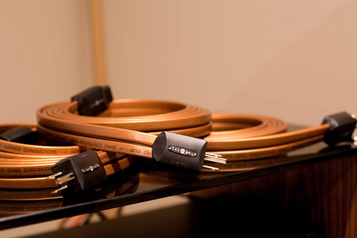 NO LONGER AVAILABLE: Wireworld Electra 5 Squared Power cord 3m (US ...
