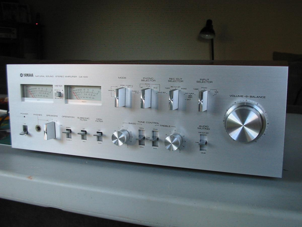 Yamaha A S3000 Integrated Stereo Amplifiers Amp Pre Amps