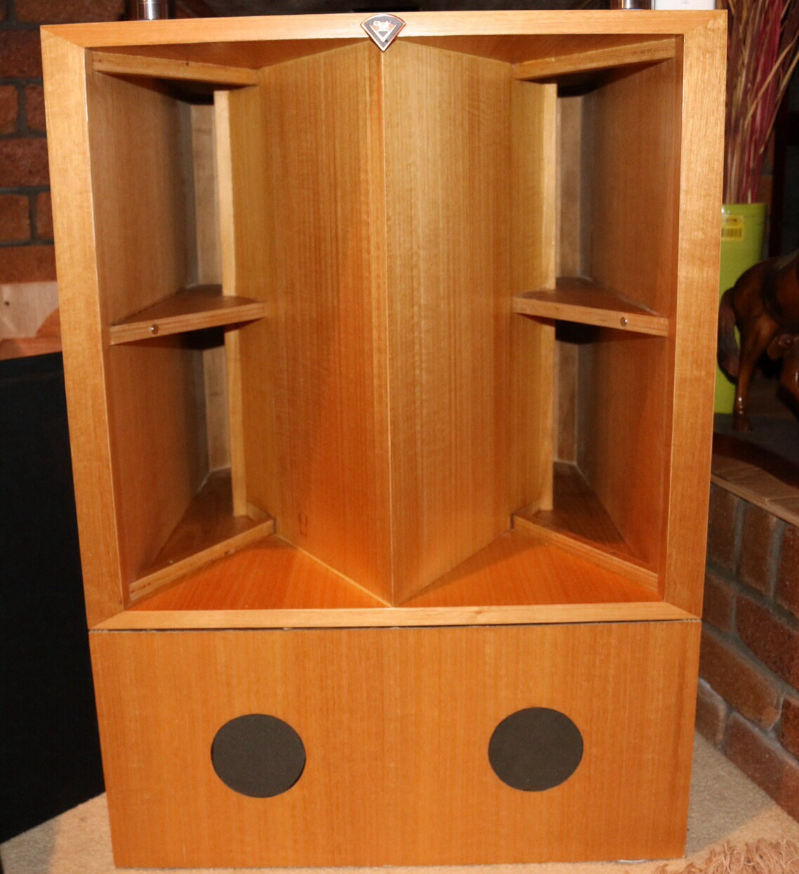 3 way eliptrac horn klipsch la scalas diy audio projects. Black Bedroom Furniture Sets. Home Design Ideas