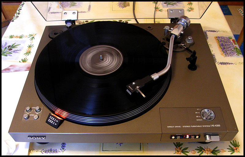 Sony Ps 4300 Direct Drive Turntable Any Good Value