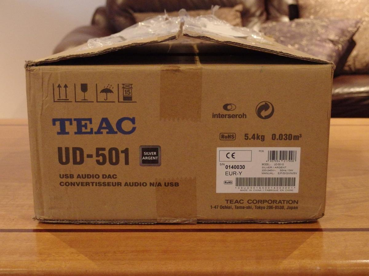 SOLD: Teac UD501 DAC - Classifieds - Audio - StereoNET