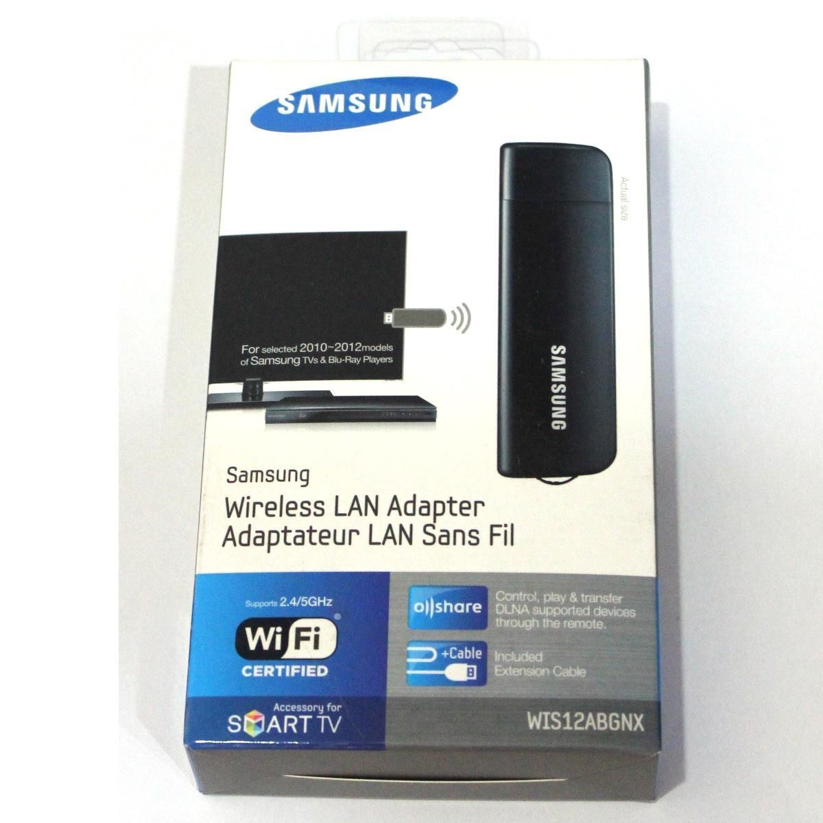 samsung smart tv wireless lan adapter wis12abgnx wifi dongle adaptor internet classifieds. Black Bedroom Furniture Sets. Home Design Ideas