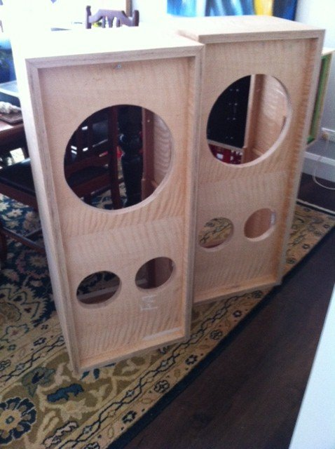 New Cabinets For Tannoy Hpd12 S Diy Audio Projects
