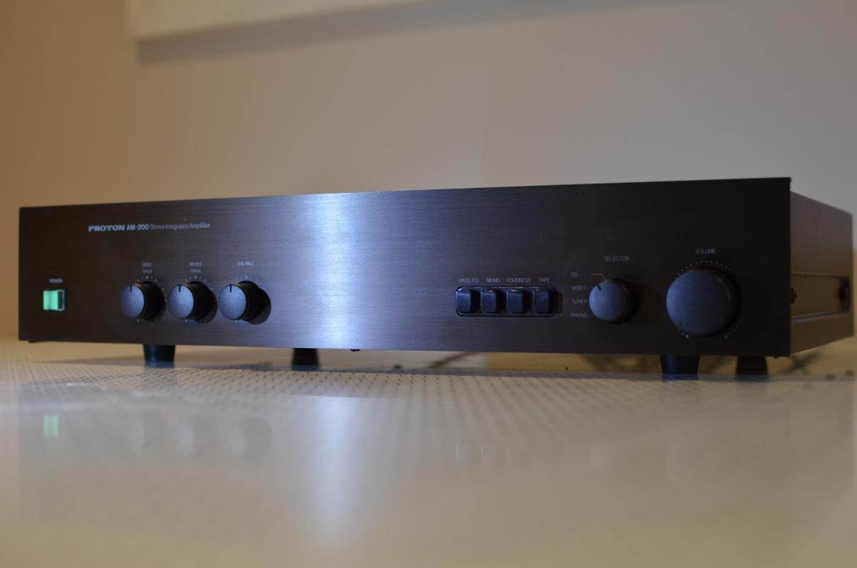 FS: Proton AM200 Stereo Integrated Amplifier - Classifieds - Audio