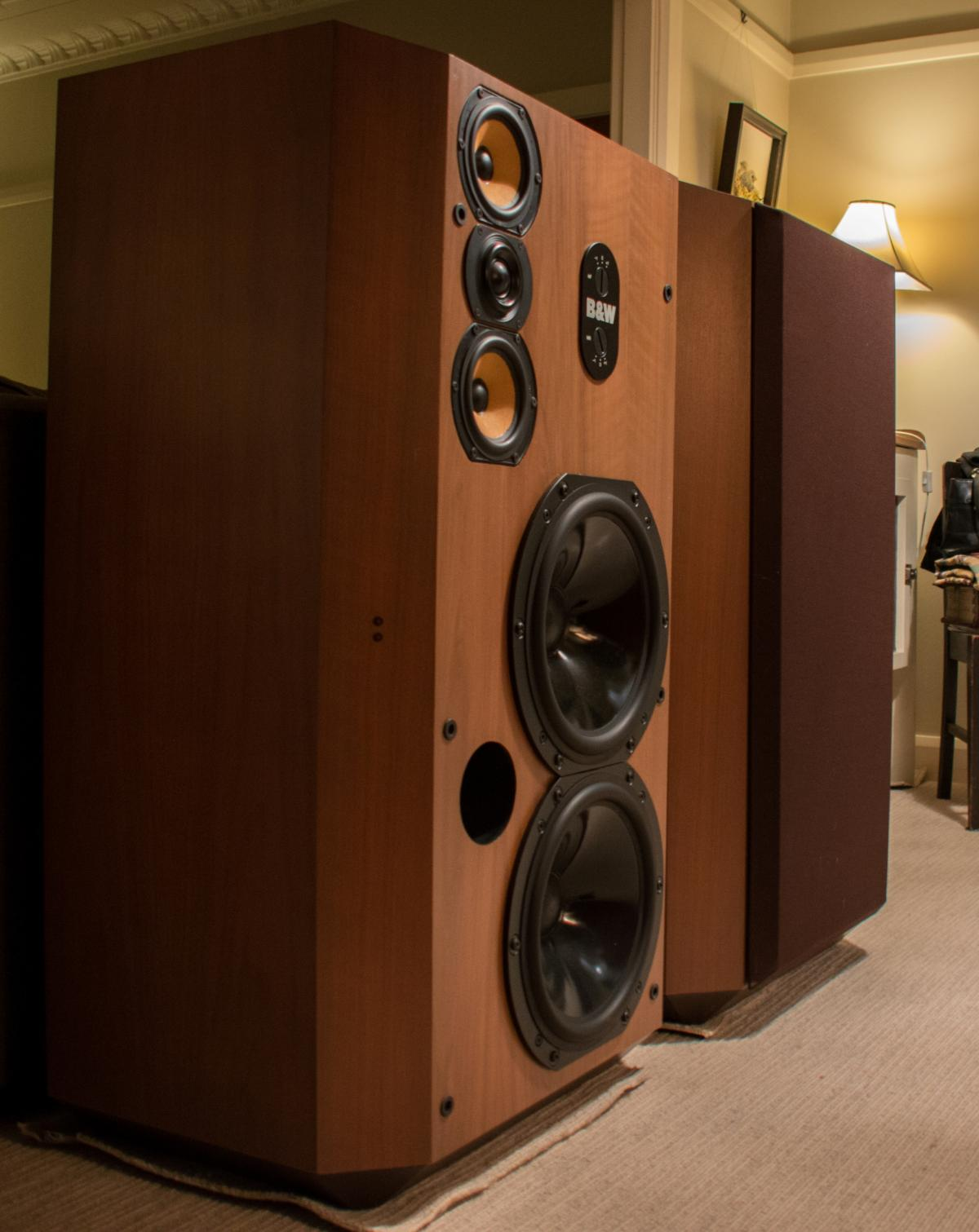 Sold Fs Bowers And Wilkins 808 Speakers Classifieds