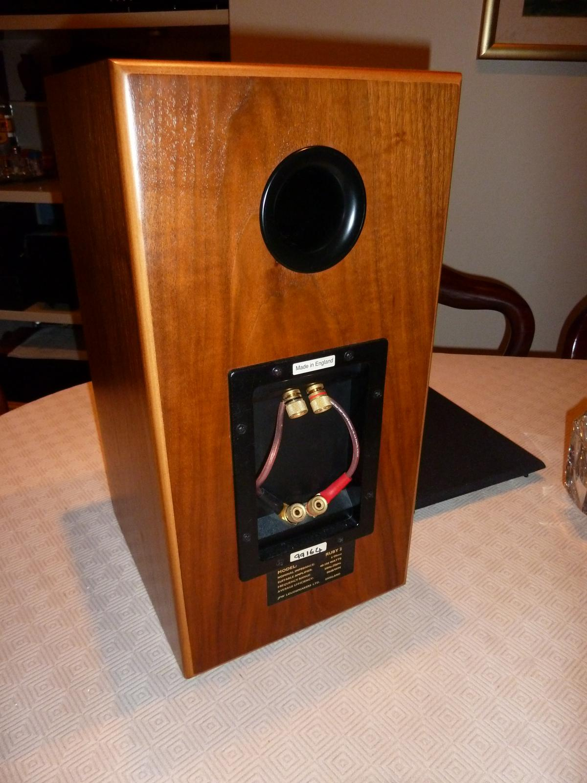 Sold Jpw Ruby2 High End Speakers In Mint Condition