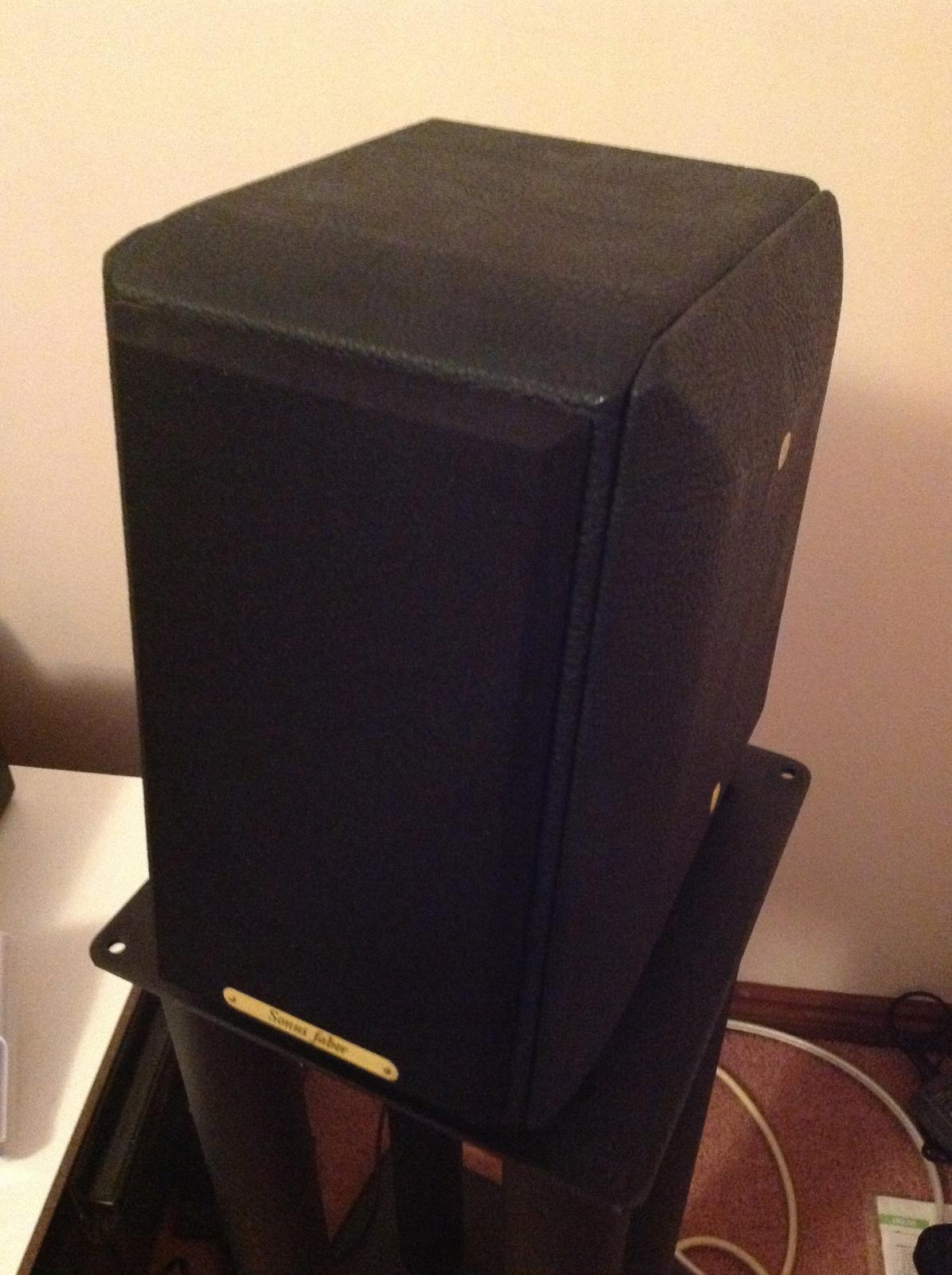 SOLD: Sonus Faber Toy Monitors - Classifieds - Audio - StereoNET