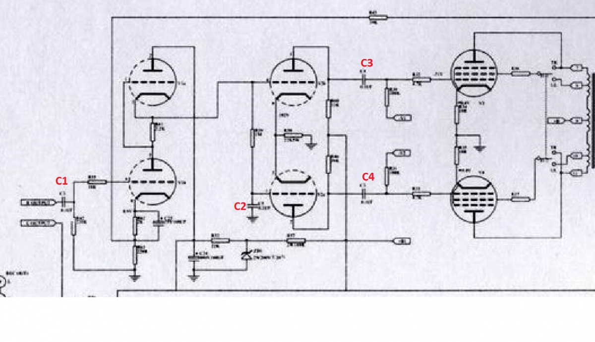 Help on capacitor upgrade - DIY Audio Projects - StereoNET