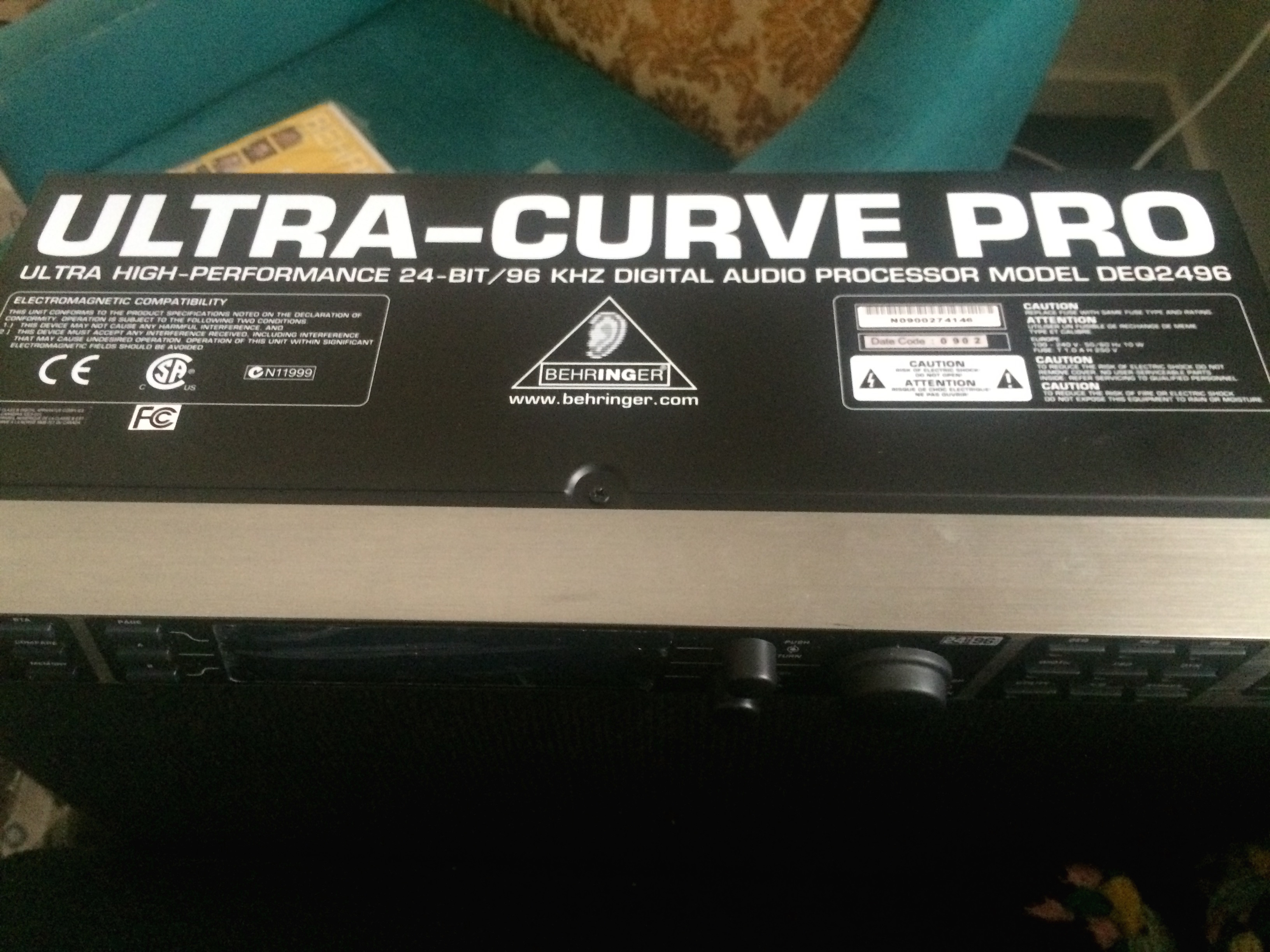 BEHRINGER ULTRA-CURVE PRO DEQ2496 NEW!!! $400 - Classifieds