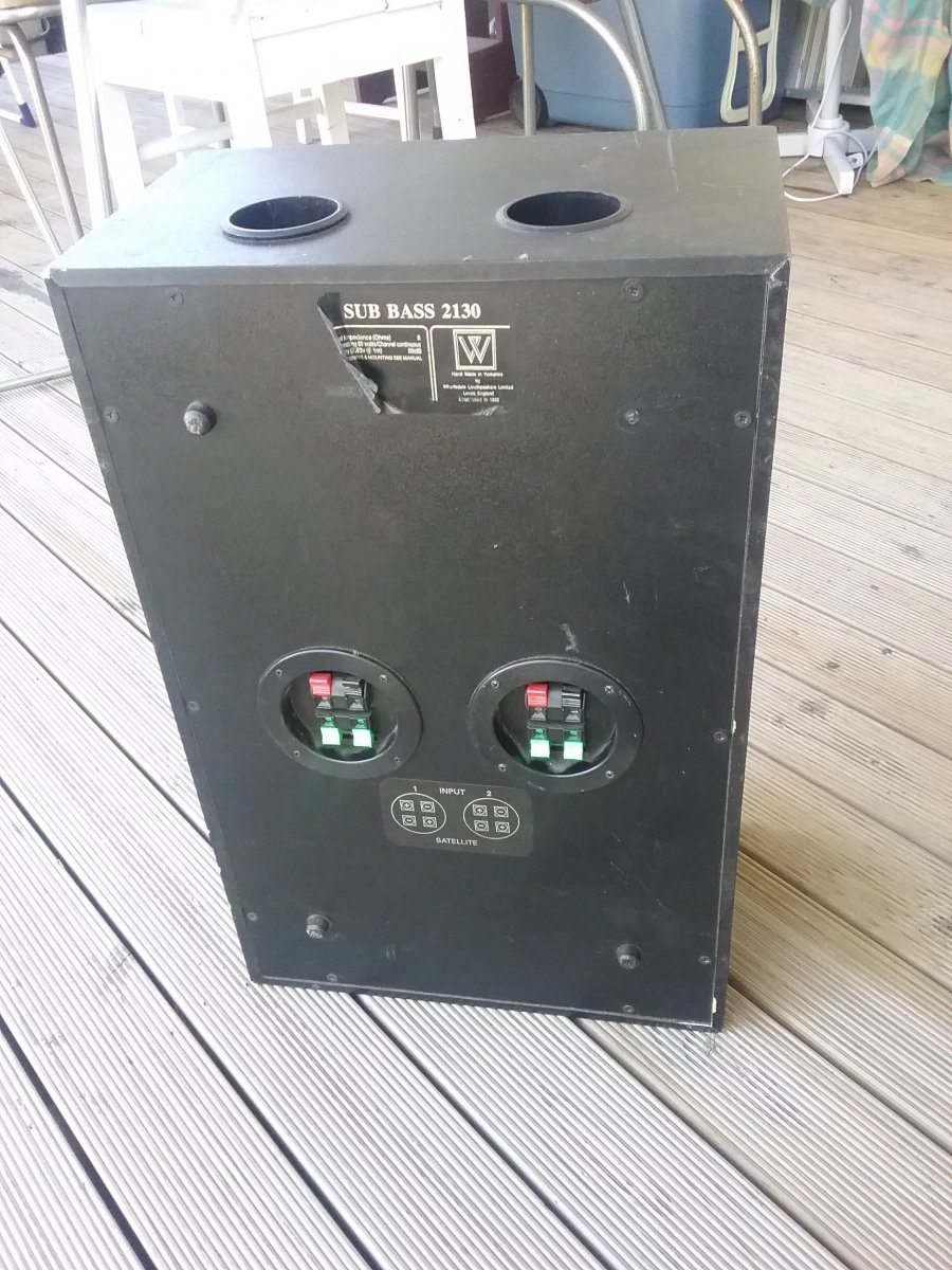 2130 Best Critical Role Fanart Images On Pinterest: Wharfedale Subwoofer Sub Bass 2130: Price Drop