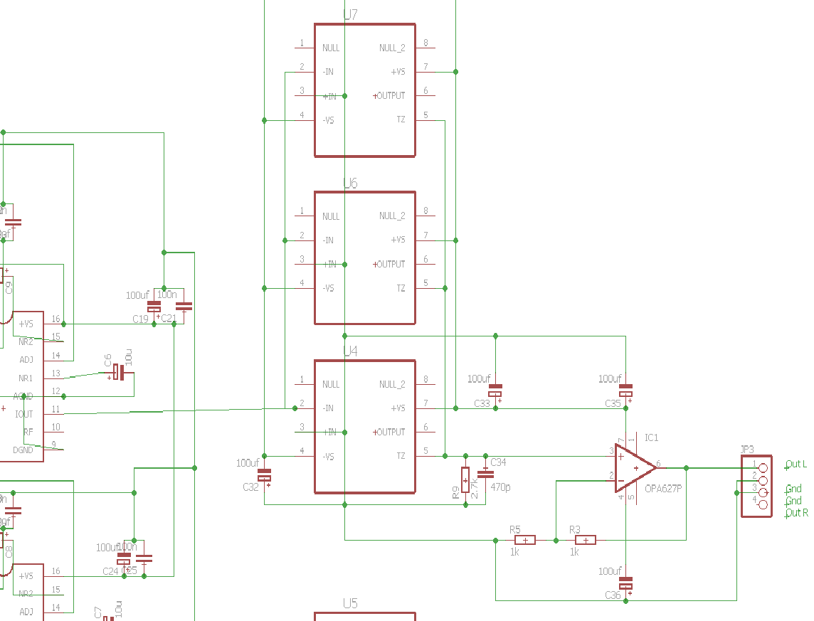 AD844 60mhz 2000V s for IV stage duties after the dac convertor  DIY Audio Projects  StereoNET