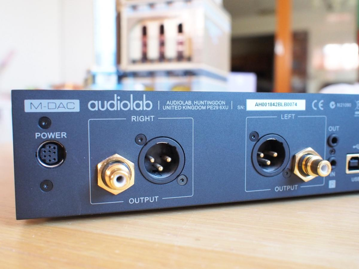 Audiolab m-dac + support roon labs community.