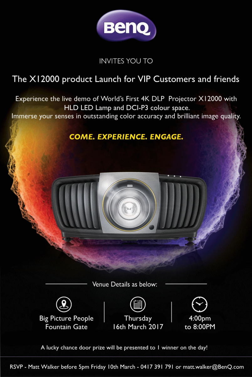 BenQ Aus Invitation 2017 - X12000 Launch - VIP and Friends.png