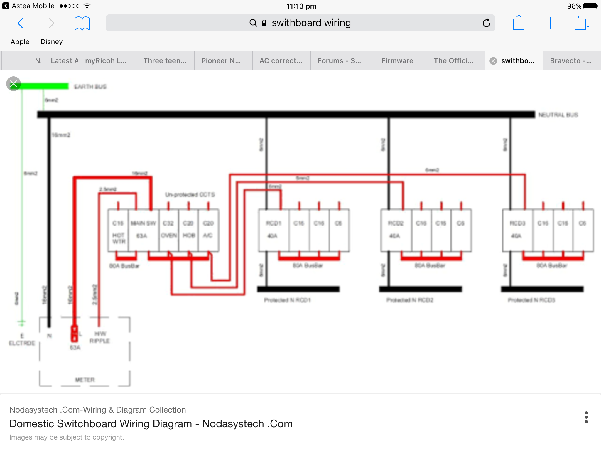 4c0e55 Domestic Switchboard Wiring Diagram Nz Wiring Resources