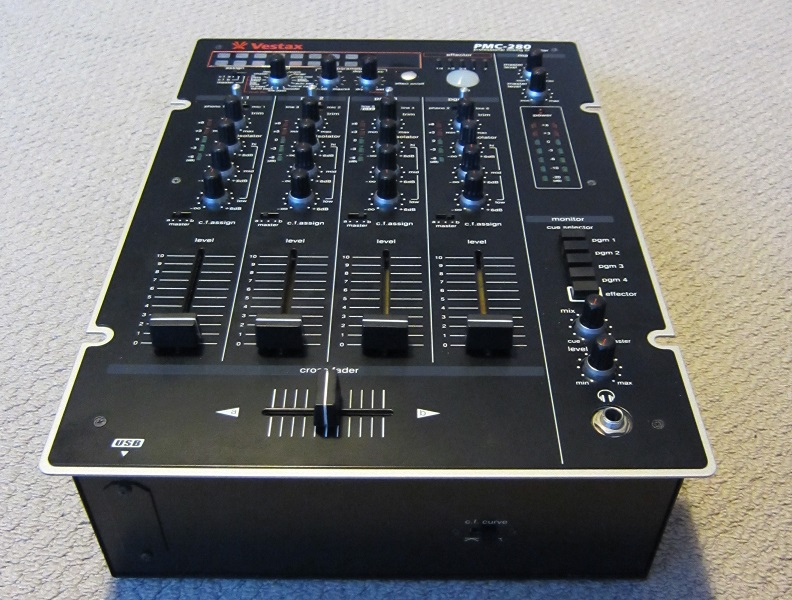 fs vestax pmc 280 4 channel dj mixer with effects near mint classifieds all other stereonet. Black Bedroom Furniture Sets. Home Design Ideas