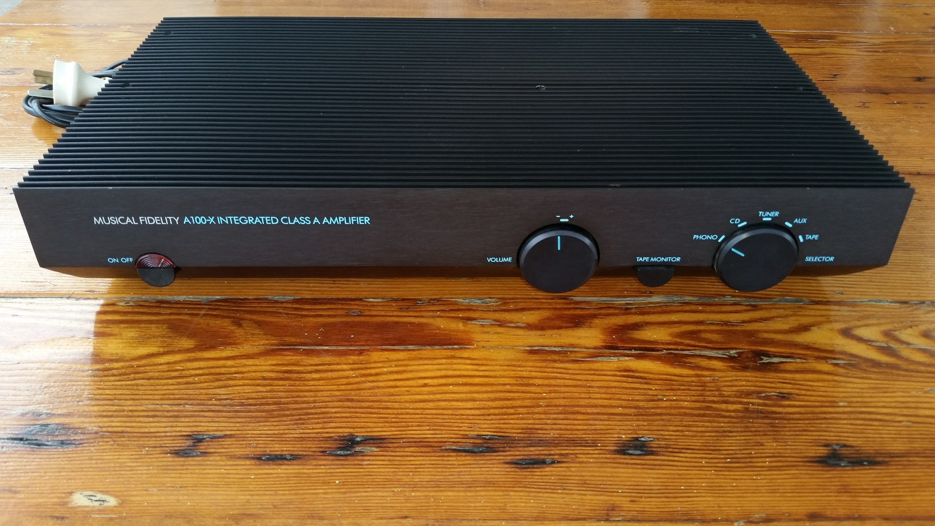 FS: Musical Fidelity A100-X - Class A Integrated Amp