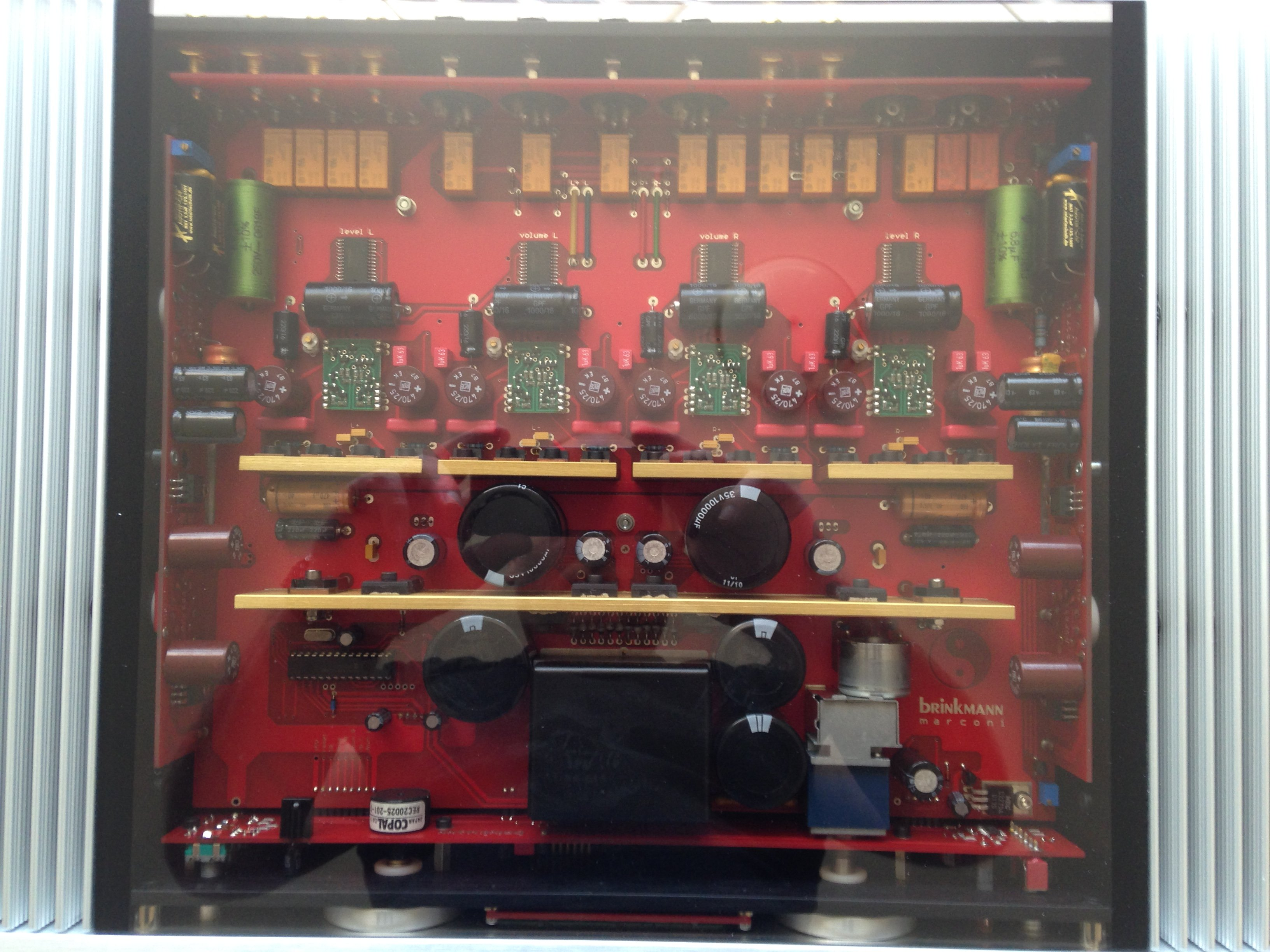Sold Brinkmann Marconi Linestage Classifieds Audio Stereonet Line Highend Preamplifier With Ics Img 0232