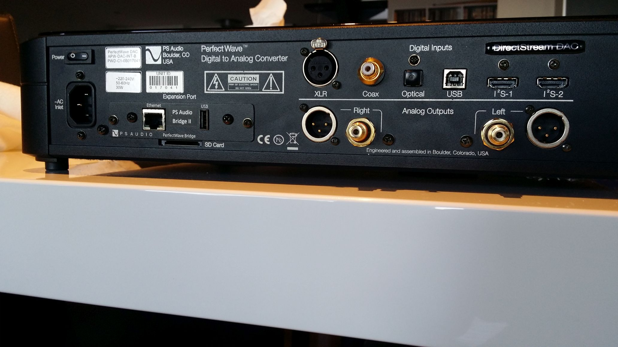WITHDRAWN OR RELISTED: PS audio Directstream DAC with Bridge 2 ...