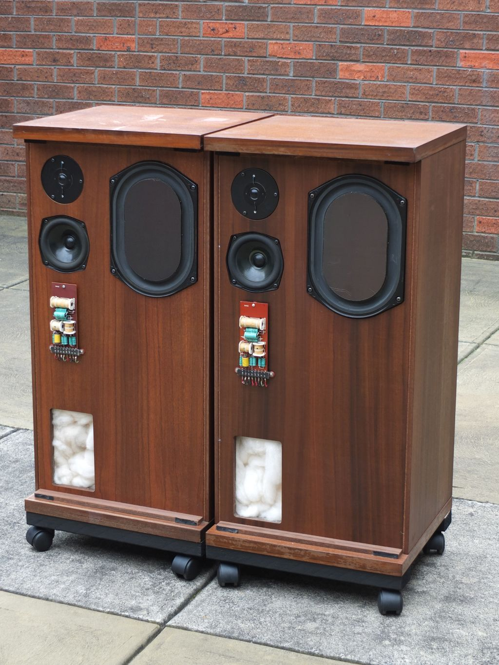 SOLD: FS: KEF Baily Transmission Line speaker pair - Classifieds