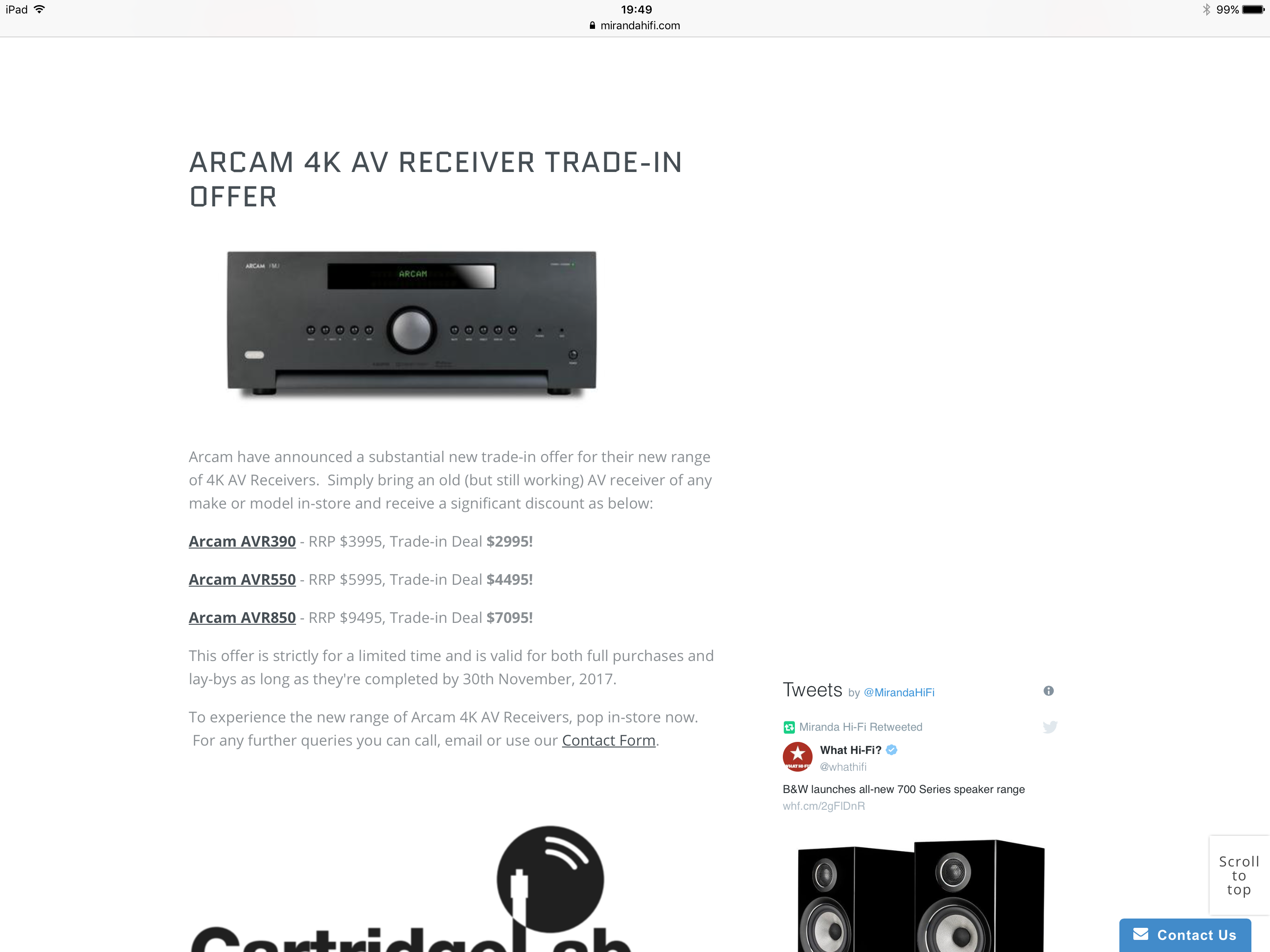 Which receiver to buy - Arcam v Anthem - Page 3 - Beginners