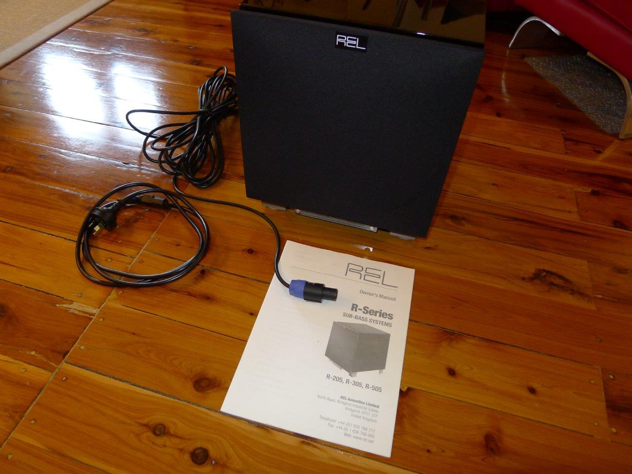 SOLD: FS: Rel R-205 Subwoofer – Sealed Box - Classifieds