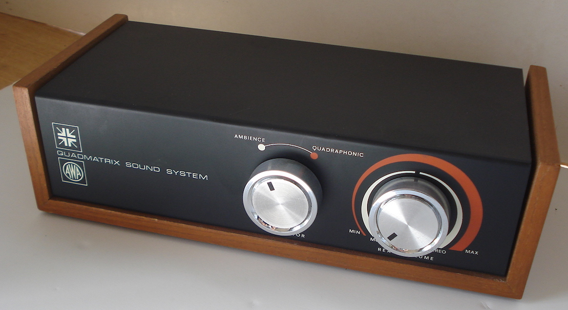 FS: Quadmatrix Sound System by AWA - Classifieds - Audio - StereoNET