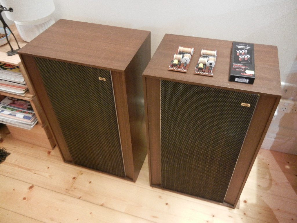 Fs Kef Concerto Speakers With Upgraded Falcon Crossovers