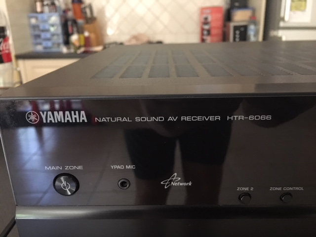 SOLD: Yamaha HTR-6066 7 2 Channel Network AV Receiver (Black