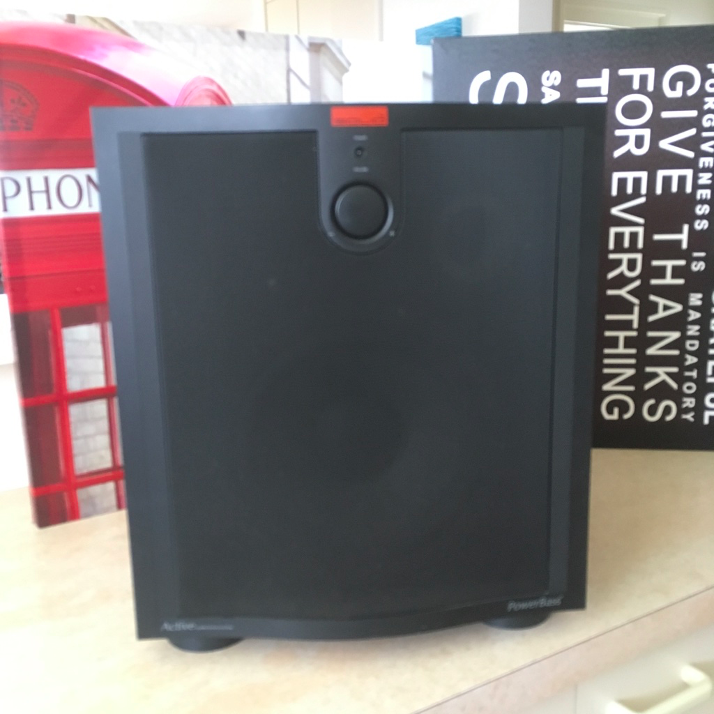 B&W Solid PowerBass Active Subwoofer - Classifieds - Home