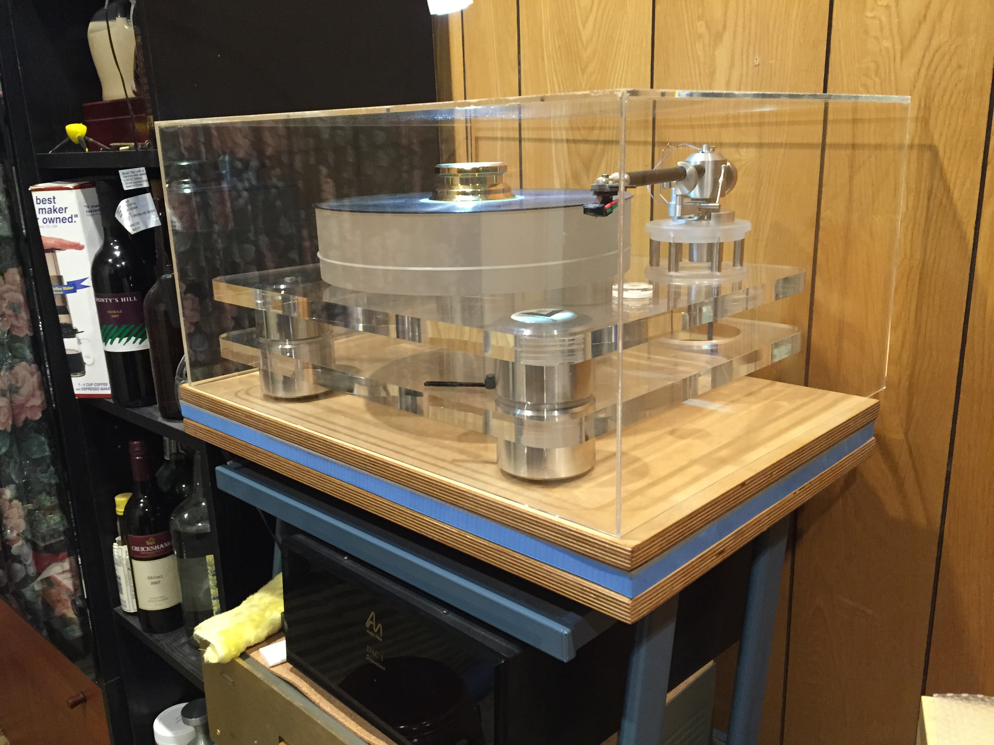 Turntable Isolation Platform Diy Page 2 Vinyl And