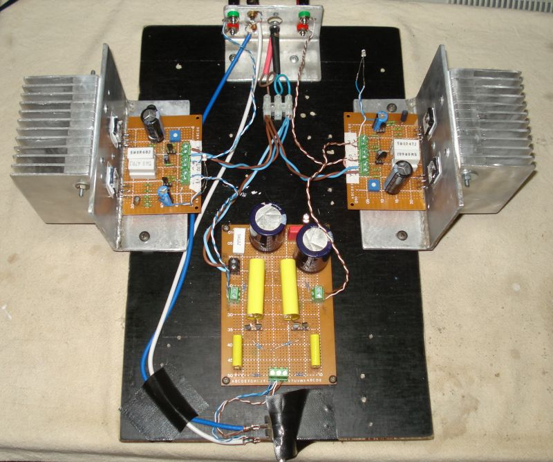 Pass Amp Camp Amp - DIY Audio Projects - StereoNET